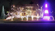 'Let it Go' musical holiday lights