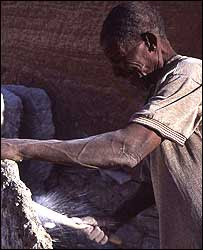 Taoudenni salt miner