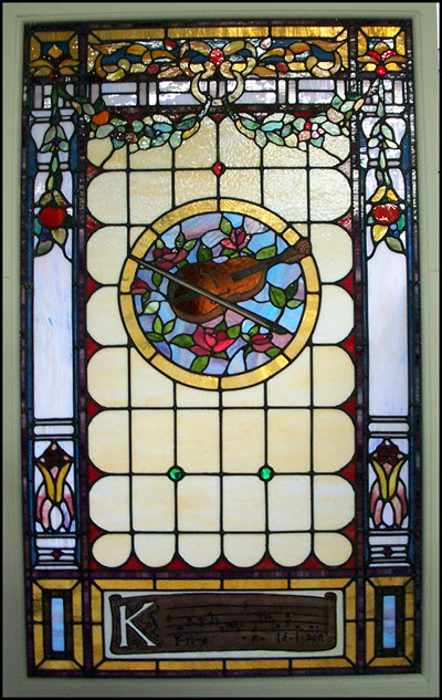 A favorite stained glass window.