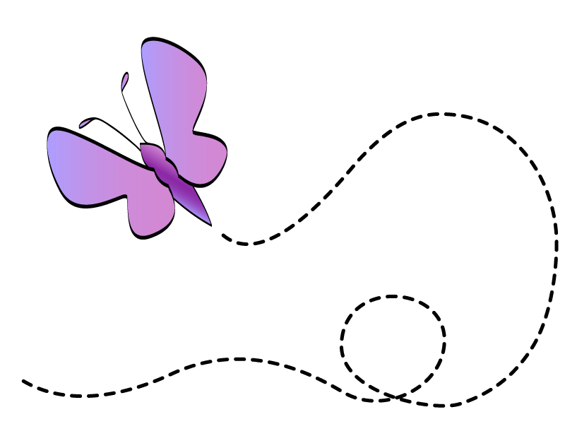 butterfly flying clipart yTk7pyGTE
