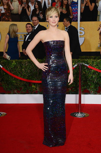 Jennifer Lawrence - 20th Annual Screen Actors Guild Awards - Arrivals