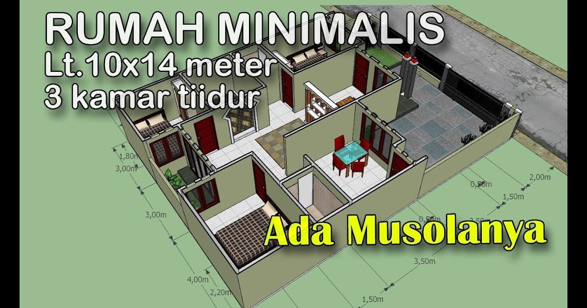model rumah ukuran 10x14