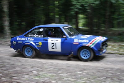 Ford Escort MkII Rally Car @ Goodwood Festival Of Speed 2008