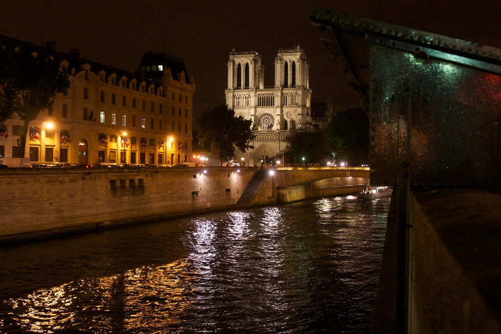 Paris France at Night 6-2012