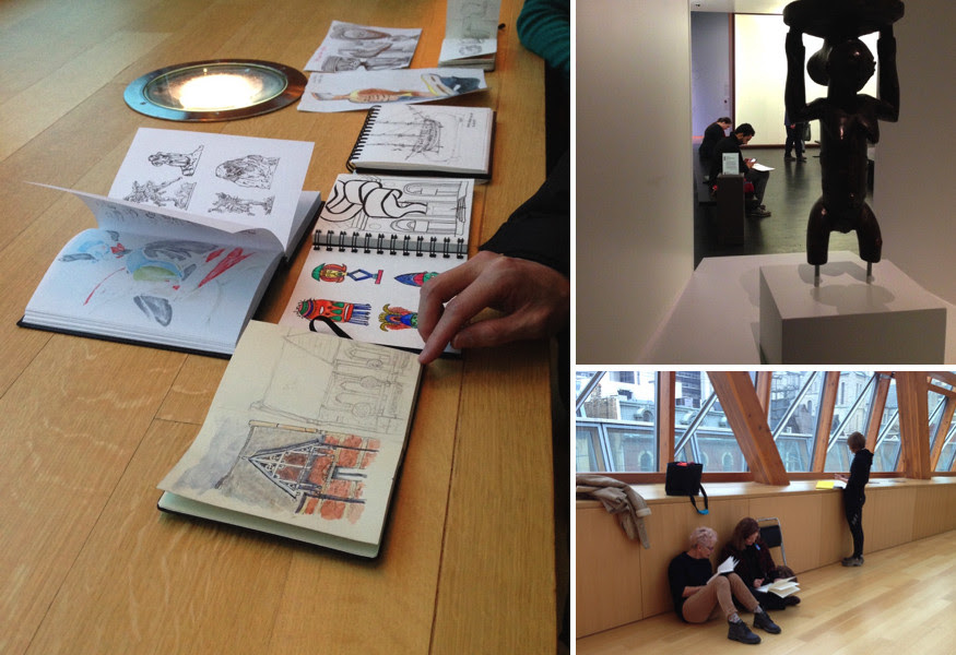 Toronto Urban Sketchers, TOUSK, AGO, Art Gallery of Ontario