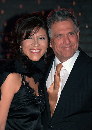 Julie Chen and Les Moonves at the Vanity Fair ...
