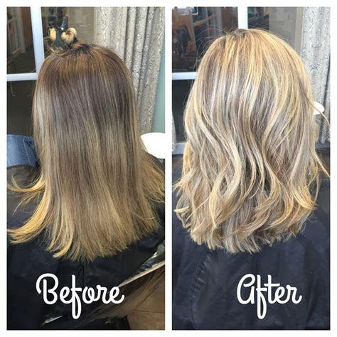 blonde highlights hair    hair highlights