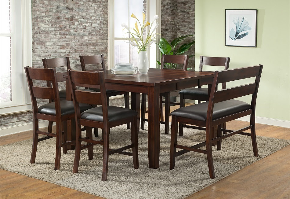 Viola Heights Collection Dining Table Set