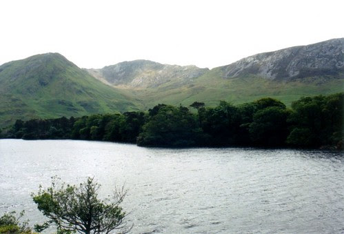 The view from Kylemore Abby