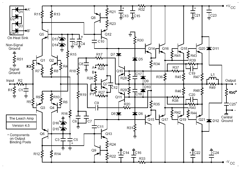 schemas diagram power sub audio