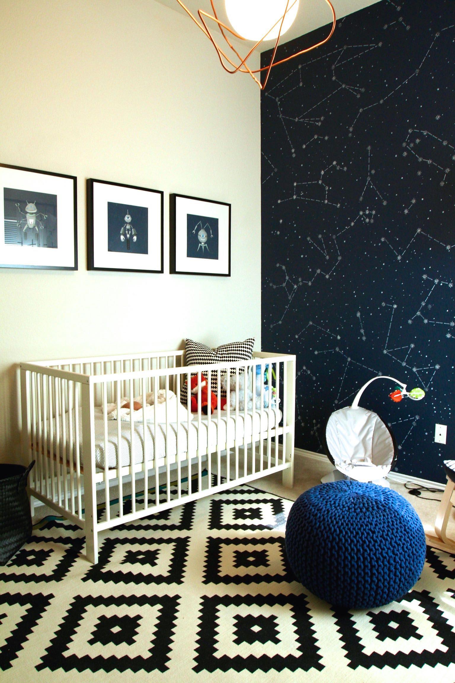 Kaiven's Space Nursery - Project Nursery