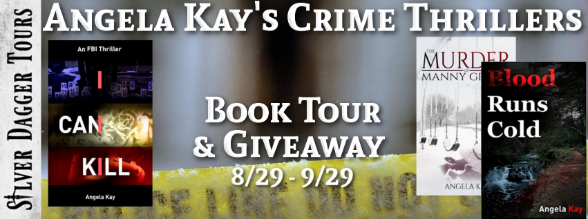 Angela Kay's Crime Thrillers Book Tour + Giveaway