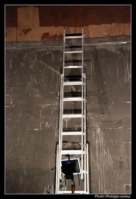 La toile blanche (enfin Noire !) - Jerome Mesnager fait le M.U.R.