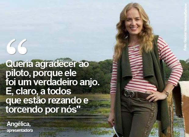 Angélica agradece ao carinho (Foto: Gabriel Nascimento/Gshow)