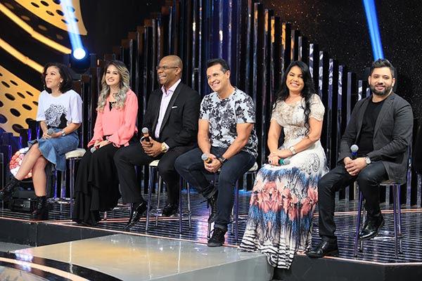 participantes do banquinho gospel disputal quem será o melhor na competição deste sábado