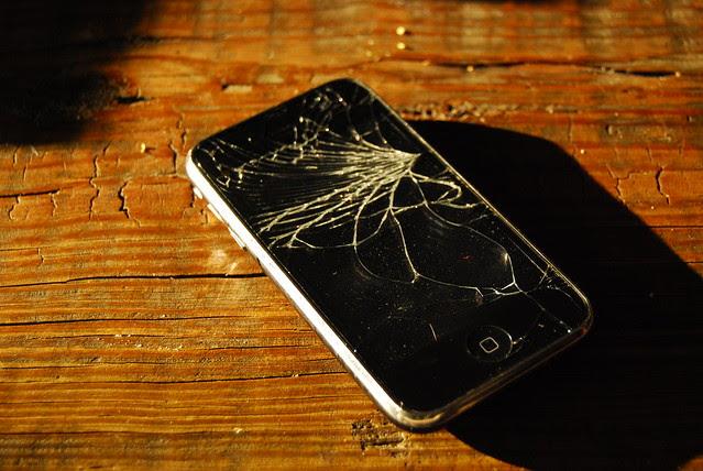 broke phone, again...