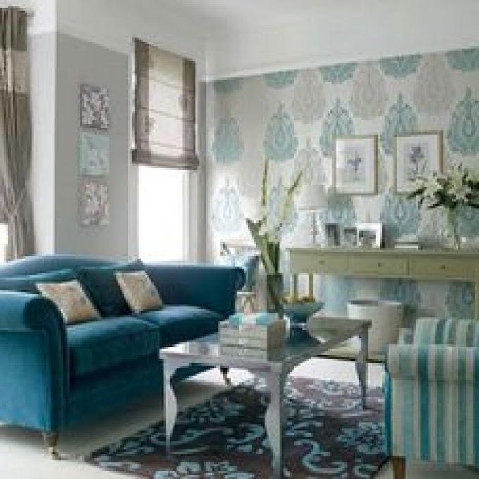 Wallpaper Mewah Ruang Tamu | Ide Rumah Minimalis