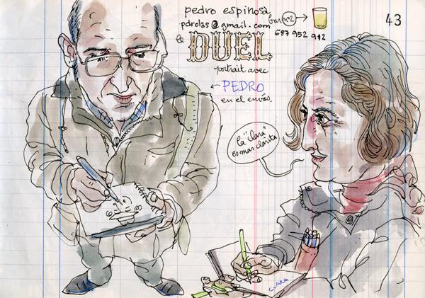 """35th sketchcrawl in """"la rioja"""" (spain)"""