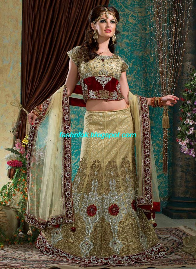 Beautiful-Cute-Girls-Wear-Bridal-Lehenga-Choli-New-Fashion-Dress-Design-2013-2