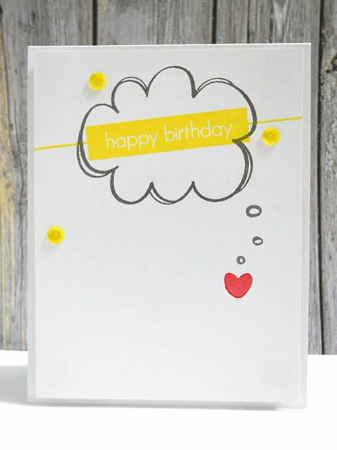Happy Heart Birthday Card