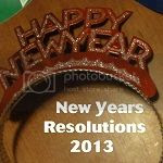 New Year's Resolutions Button