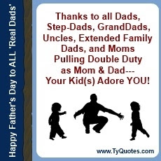 Inspirational Quotes About Single Dads Singlemomnetworkin