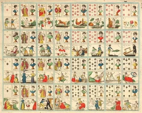 Grand jeu du nouveau testament avec 120 figures + Jeu et tableaux du nouveau testament (~1800)