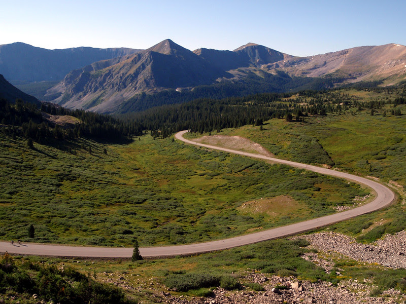The east side of Cottonwood Pass.