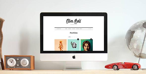 Oliver v1.0.8 - Classic & Minimal Portfolio Theme