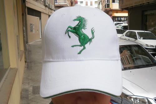 Ferrari Blanca y Verde