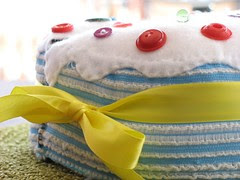 Felt Cake, done by pinkpicketfence