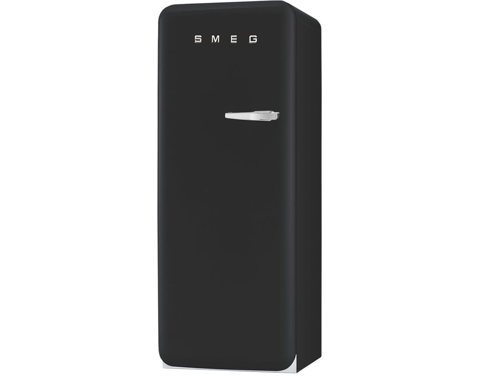 Retro Kühlschrank Linksanschlag : Kühlschrank matt schwarz smeg frances o donnell