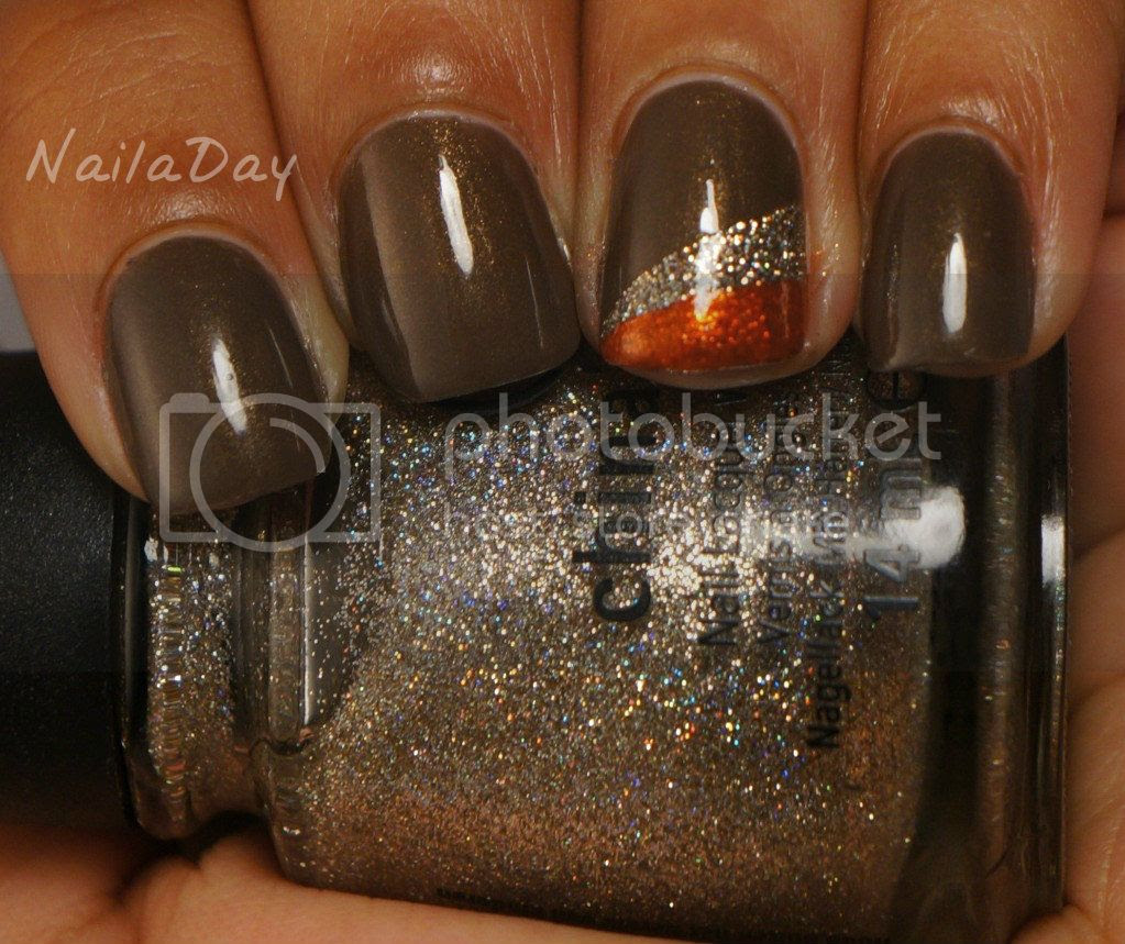 NailaDay: China Glaze Ingrid with Accent