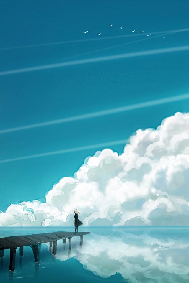 Sky Cloud iPhone Wallpaper HD