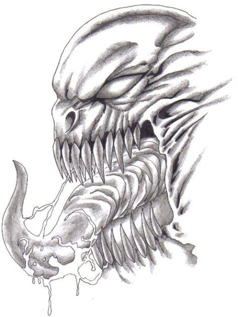 drawn monster dragon pencil   color drawn monster