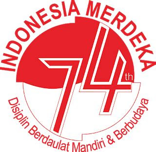makna logo  indonesia merdeka hubungan harmonis rasa