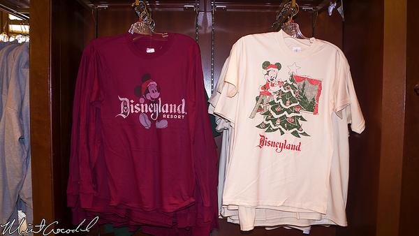 Disneyland Resort, Disneyland, Main Street U.S.A., Emporium, Christmas, Retro, Vintage, Shirts