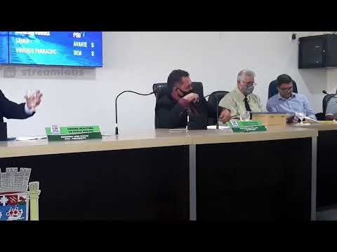 Assista a live da seção da câmara de vereadores de Porto Seguro