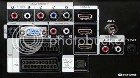 Cổng HDMI trên HDTV. Ảnh: HDTVtest.