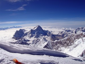 How the world looks from the summit of Mount Everest