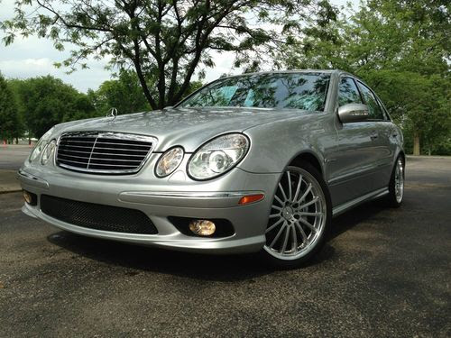 Find used 2004 Mercedes Benz E55 AMG Awesome Low Miles ...