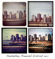 Financial District Manhattan NY