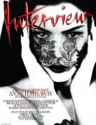 Anne Hathaway - Interview Magazine Scans