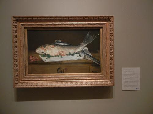 DSCN7818 _ Still Life with Fish and Shrimp, 1864, Édouard Manet (1832-1883), Norton Simon Museum, July 2013