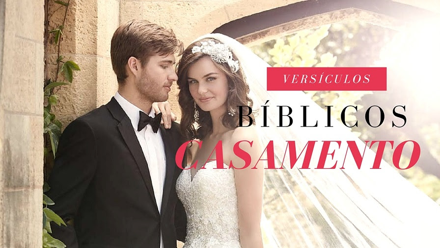 56 Versículos Para Convite De Casamento
