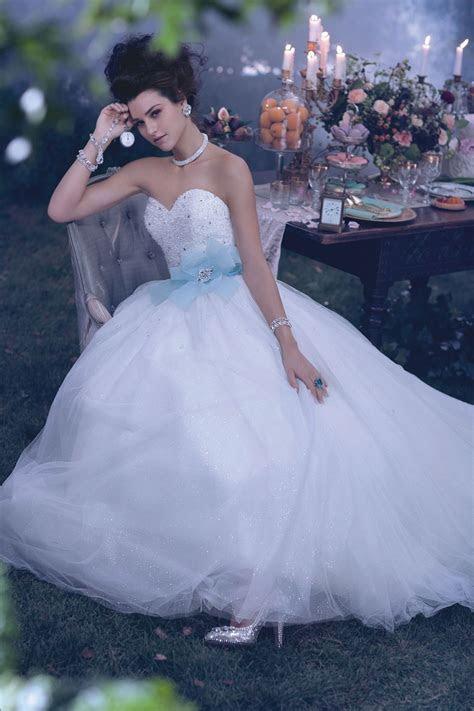 Cinderella Blue Wedding Dress Alfred Angelo