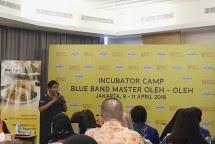 Incubator Camp Blue Band Master bersama Bekraf. (Dina Astria/Industry.co.id)