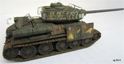 James Gordon 1/72nd Scale T 34/85