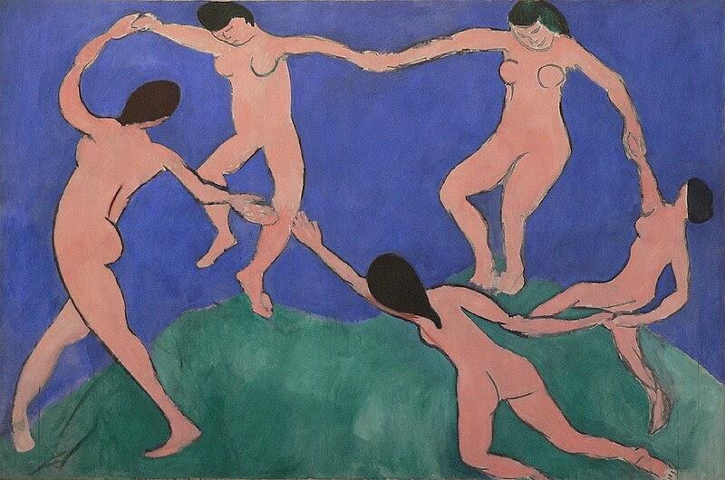"""Estórias da História: Análise da obra:""""A Dança"""", de Henri Matisse"""