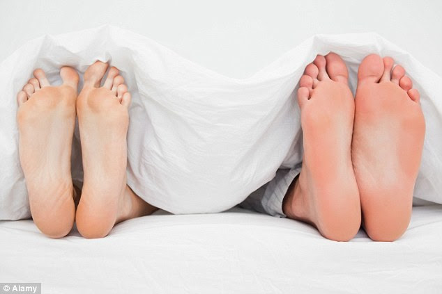 Experts say it is better to go fully commando at night to let your nether regions 'breathe' and to avoid infection (file image)